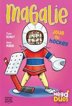 Magalie joue au hockey
